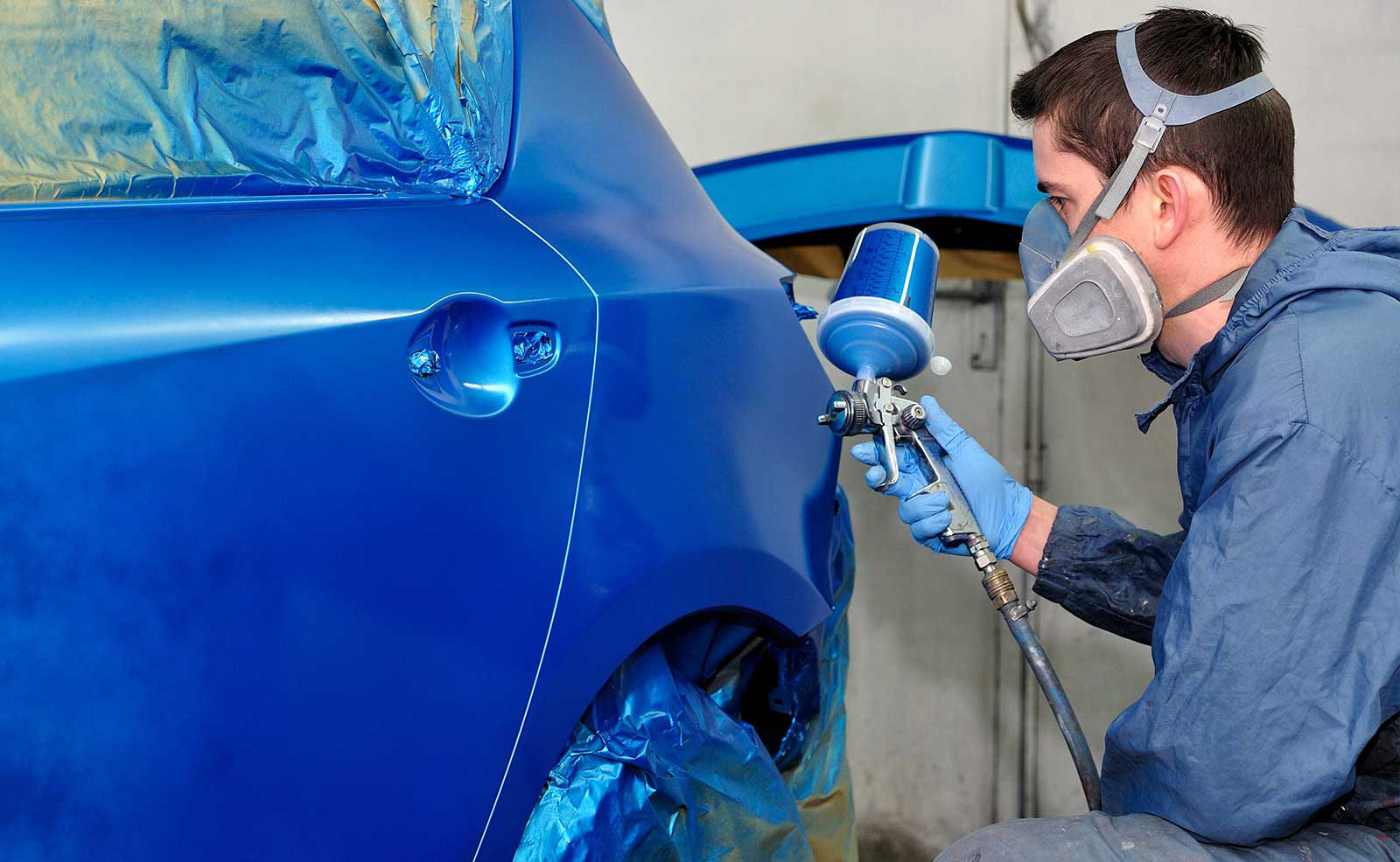 Как покрасить авто своими руками если нет краскопульта